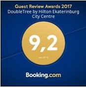 Booking.com: Guest Review Award, average score 9,2